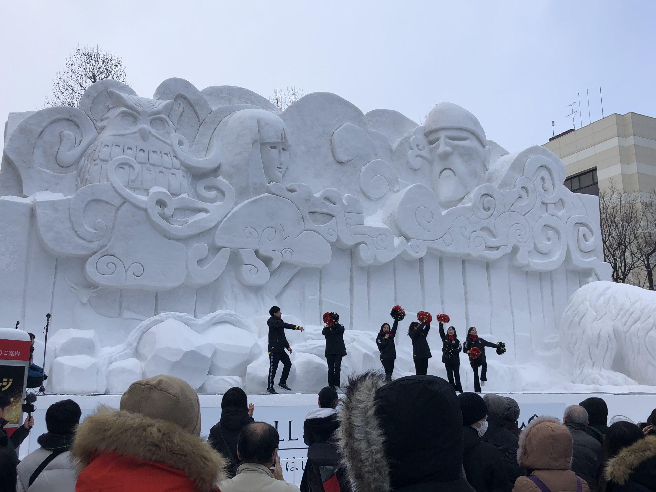 雪まつり2020②