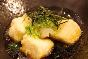 梅と大根おろしでサッパリ食べたい、さっぱり揚げ出し豆腐レシピ
